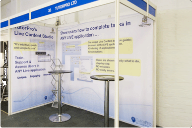 Exhibition Stand Options : Portable displays direct shell scheme exhibition stand options